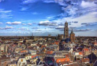 Город Утрехт Нидерланды