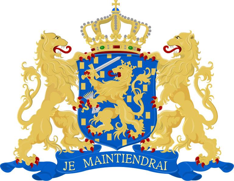 Средний герб Нидерландов