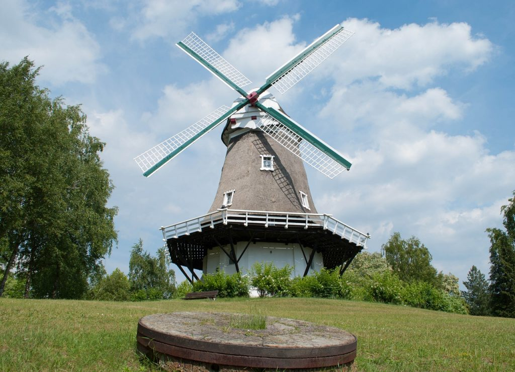 Нидерландские ветряные мельницы