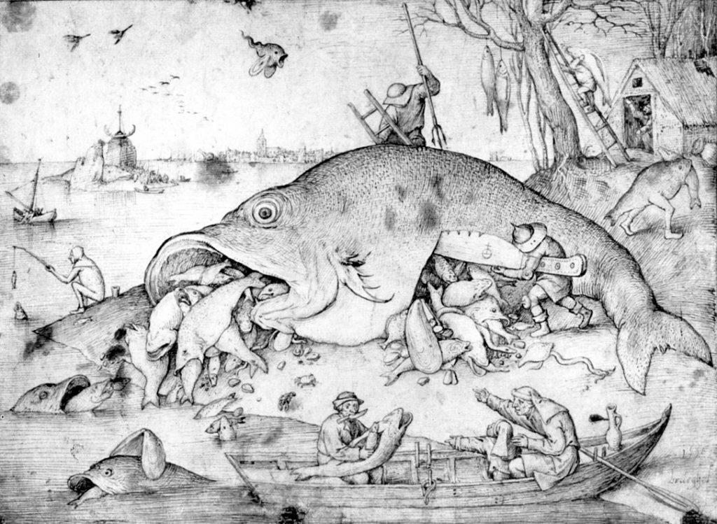 Большие рыбы поедают малых